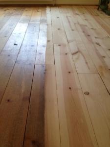 DMB Parket renovatie grenen planken