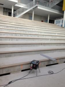 DMB Parket trap bekleed met kerngerookt eiken hoogkant